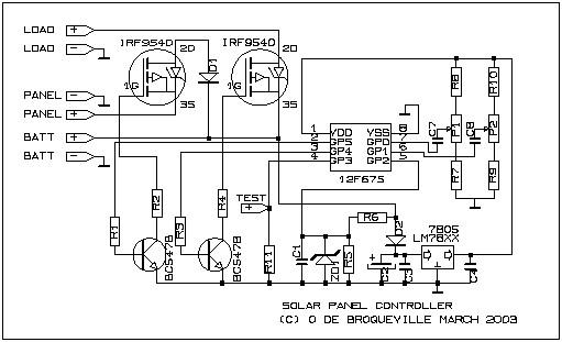 Схема преобразователя  mikrocxemaru
